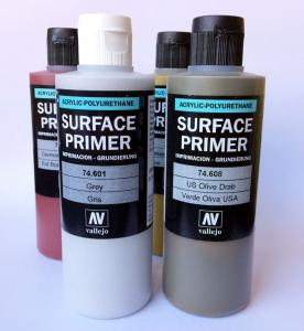 Podkład akrylowy Surface Primer 200 ml. USN Light Ghost Grey