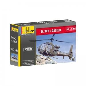 Heller 80486 SA 342 Gazelle - 1:50