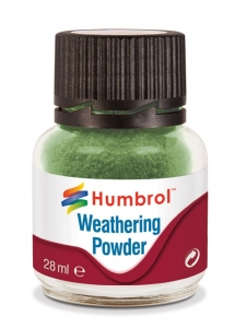 Humbrol AV0005 Pigment Weathering Powder 28 ml - Oxide Green AV0005