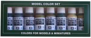 Zestaw Model Color 8 farb - Panzer Colours