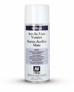 Vallejo 28531 Spray 400 ml Matt Varnish