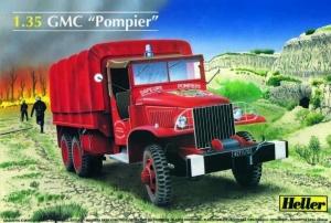 Heller 81119 Ciężarówka GMC strażacka - 1:35