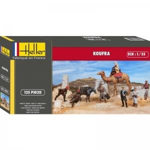 Heller 81101 Diorama - Koufra 1:35