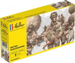Heller 49623 Figurki - Spadochroniarze brytyjscy - 1:72