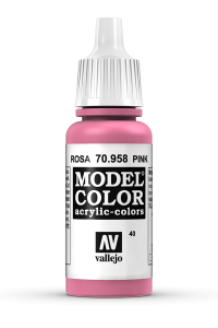 Vallejo 70958 Model Color 70958 40 Pink