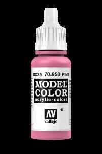 Vallejo 70958 Model Color 70958 40 Pink