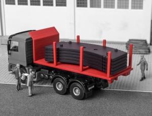 Kibri 13051 H0 Platforma hakowa z ładunkiem