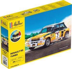 Heller 56717 Starter Set - Renault R5 Turbo - 1:24