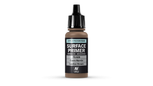 Vallejo 70626 Podkład akrylowy Surface Primer 17 ml. Leather Brown