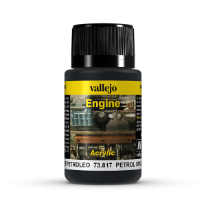 Vallejo 73817 Engine Effects 40 ml. Petrol Spills