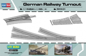 Hobby Boss 82909 German Railway Turnout - 1:72