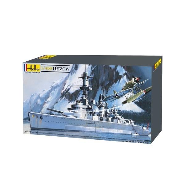 Heller 81047 Pancernik Lutzow - 1:400