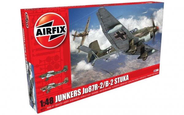 Junkers JU87B-2/R-2 1:48