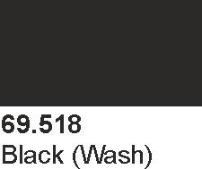 Vallejo 69518 Mecha Color 69518 Black Wash