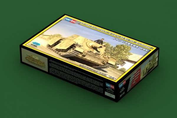 Hobby Boss 80134 German SturmPanzer IV early Sd.Kfz.166 Brummbar - 1:35