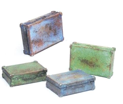 Vallejo SC226 Diorama Accessories Walizki metalowe 1:35