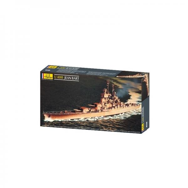 Heller 81077 Pancernik Jean Bart - 1:400