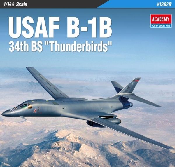 Academy 12620 USAF B-1B - 1:144