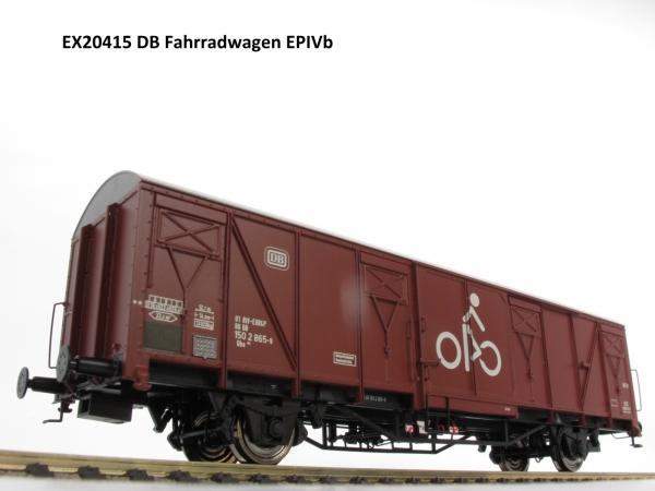 Exact-Train EX20415 Wagon towarowy kryty Gbs 254, DB, Ep. IV