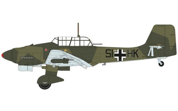Airfix A07115 Junkers JU87B-2/R-2 1:48