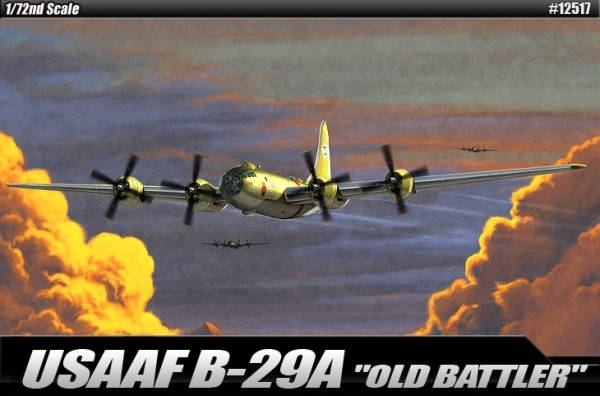Academy 12517 USAAF B-29A Old Battler, 1:72