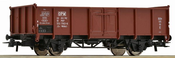 Wagon towarowy odkryty .Es (Wddo) PKP, ep. IV