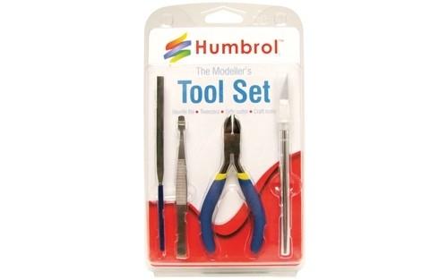Humbrol AG9150 Small Tool Set - Zestaw narzędzi
