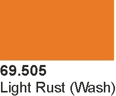 Vallejo 69505 Mecha Color 69505 Light Rust Wash