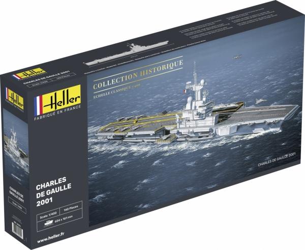 Heller 81072 Lotniskowiec Charles De Gaulle - 1:400