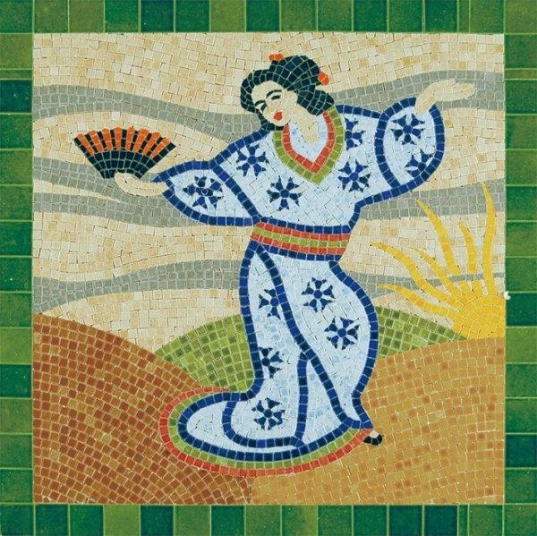 Aedes Ars 5502 Mozaika 300x300 mm - Japonka