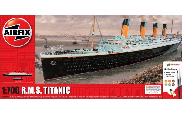 Airfix A50164A Gift Set - RMS Titanic - 1:700