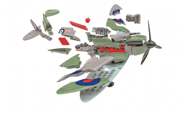 Airfix J6045 Quickbuild - D-Day Spitfire