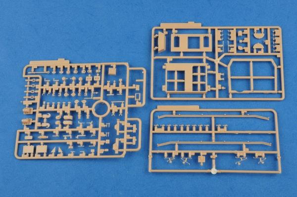 Hobby Boss 80134 German SturmPanzer IV early Sd.Kfz.166 Brummbar - 1:35