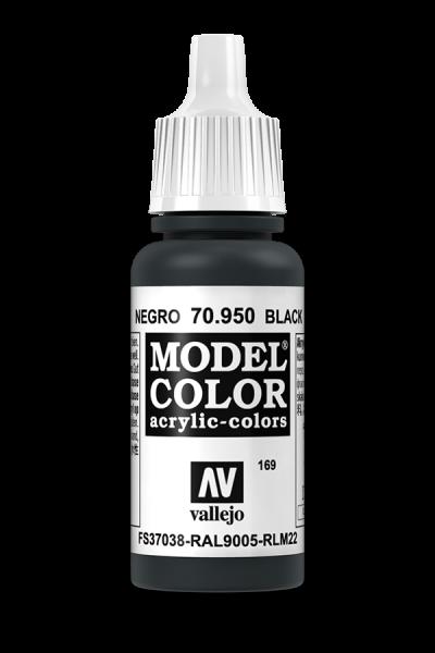 Vallejo 70950 Model Color 70950 169 Black