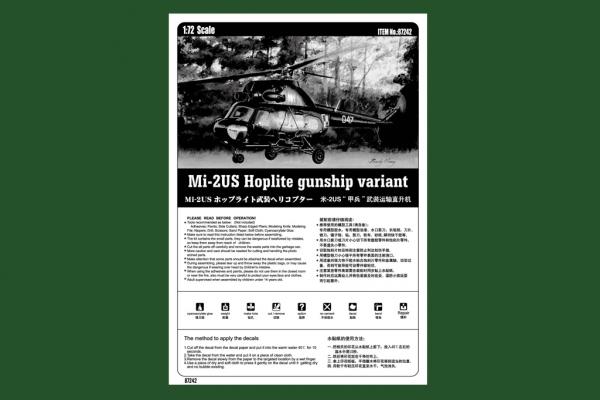 Hobby Boss 87242 Mil Mi-2US Hoplite gunship variant - 1:72