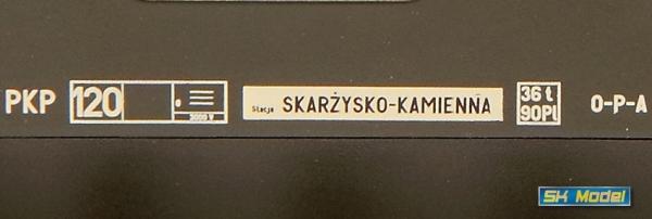 Rivarossi HRS4227 Czterowagonowy zespół piętrowy typ Bhp, PKP, Skarżysko Kamienna