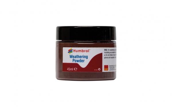 Humbrol AV0017 Pigment Weathering Powder 45 ml Dark Earth