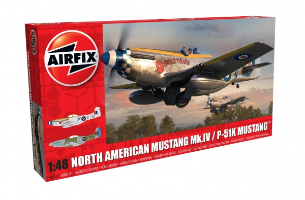 Airfix A05137 North American Mustang Mk.IV - 1:48