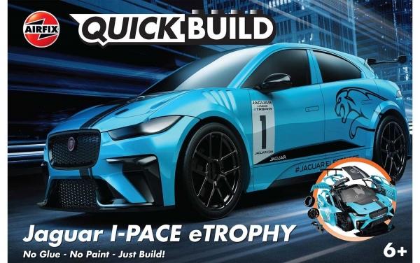 Airfix J6033 Quickbuild - Jaguar I-PACE eTROPHY