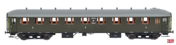 Exact-Train EX10009 Wagon pasażerski 2/3 kl BChxz, St, Wrocław, PKP, Ep, IIIb