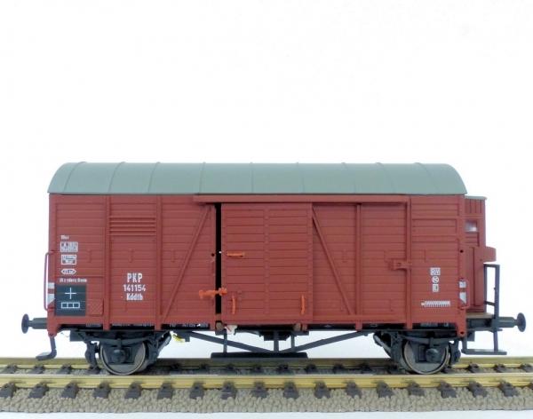 Exact-Train EX20761 Wagon towarowy kryty Oppeln Kddth 141154 (budka hamulcowa), PKP, Ep. III