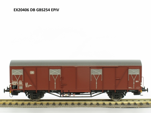 Wagon towarowy kryty Gbs 254, DB, Ep. IV
