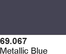 Vallejo 69067 Mecha Color 69067 Metallic Blue