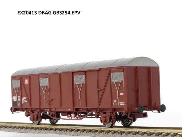Wagon towarowy kryty Gbs 254, DB, DB AG, Ep. V