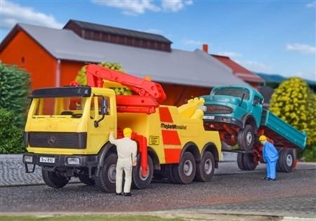Kibri 14630 Mercedes 3335 RAU holownik pomocy drogowej