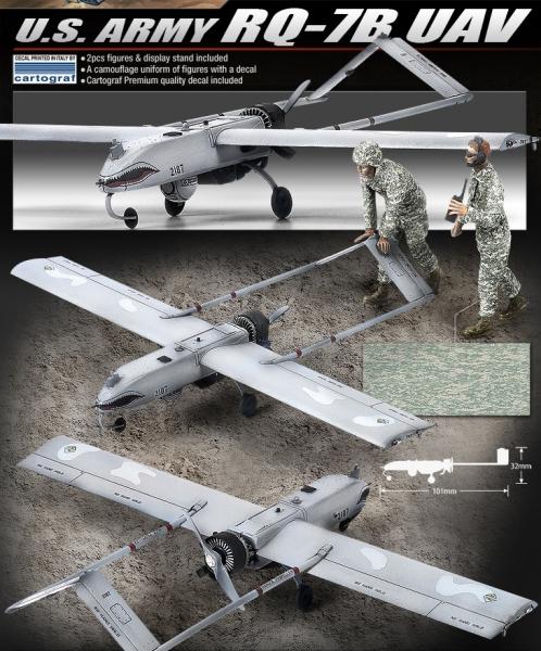 Academy 12117 RQ-7B UAV U.S. Army drone