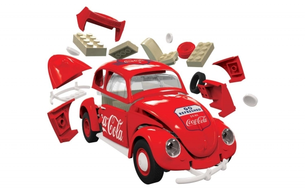Airfix J6048 Quickbuild - Coca-Cola VW Beetle