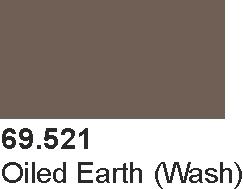 Vallejo 69521 Mecha Color 69521 Oiled Earth Wash