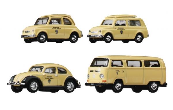 Roco 05379 Samochody pocztowe 4 szt. H0