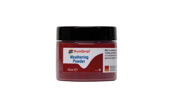Humbrol AV0016 Pigment Weathering Powder 45 ml Iron Oxide